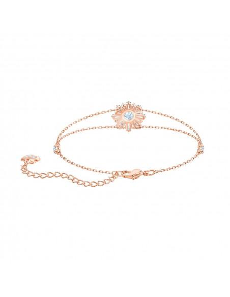 840a027e26e69d Braccialetto Sunshine gioielli Swarovski placcato oro rosa 5451357