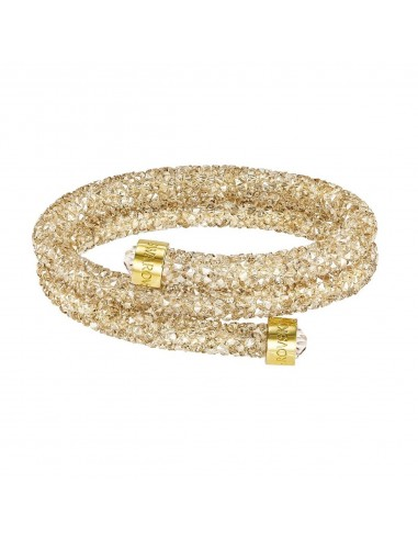 6a20a501c Swarovski crystaldust bracelet with double gold-plated ring size S 5255907