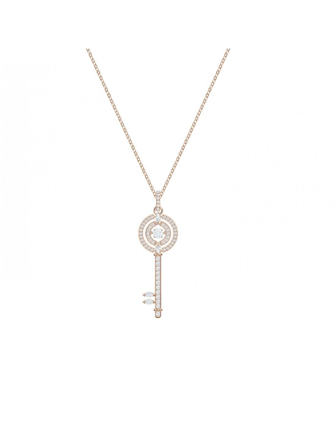 293a2fd4da47b Pendant Sparkling Dance Key Swarovski jewelry rose gold plated 5469120