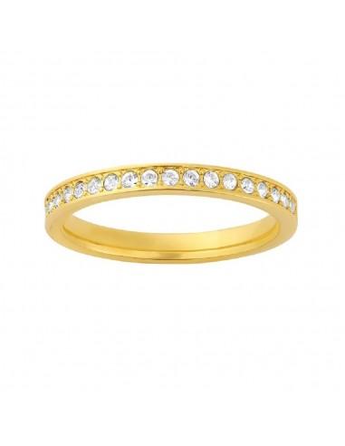 Rare ring swarovski gold plated jewelry