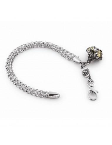 Gerardo Sacco silver Iride bracelet...