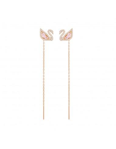 Earrings Dazzling Swan Swarovski...