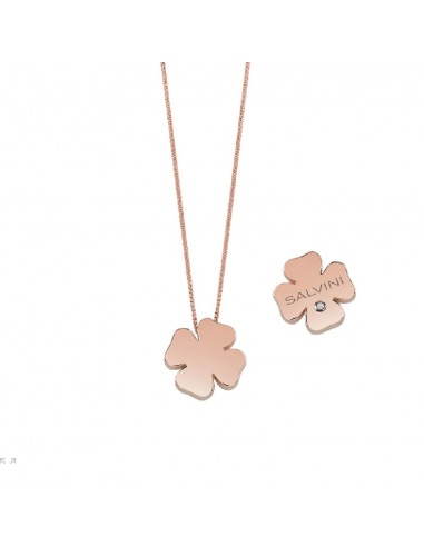 I Segni jewels necklace in pink gold...
