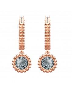 c6b8c4a1d Ginger Chain swarovski earrings rose gold plated 5347293