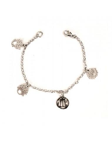 Gerardo Sacco silver bracelet with...