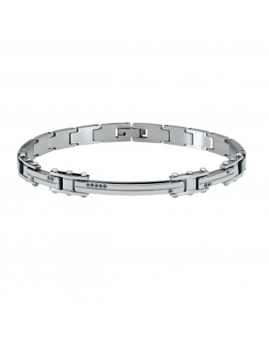 Bracelet RossoAmante PVD steel and...