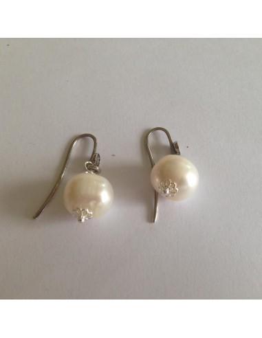 Gerardo Sacco Earrings Silver bag and...