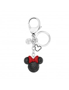 Minnie Swarovski steel key...