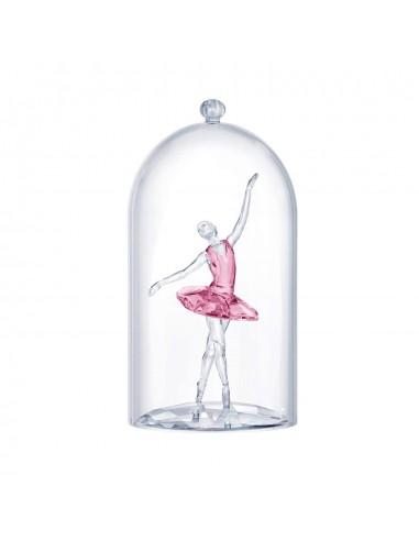 Swarovski Glass Bell with Ballerina...