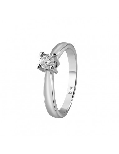 Bliss solitaire ring Dream gold and...