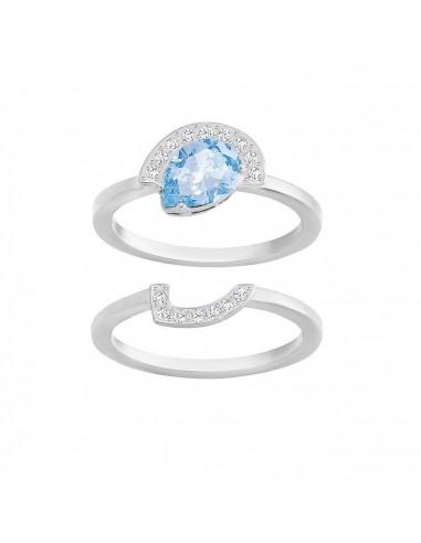 Ring GALLERY jewels Swarovski rhodium...