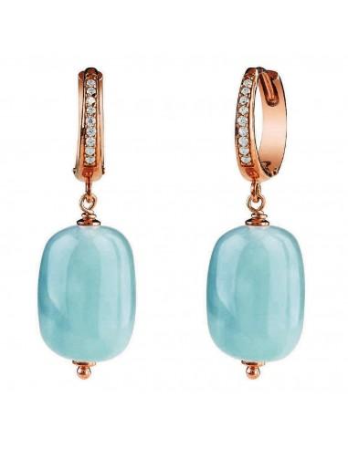 Bliss Oceania earrings in silver and...