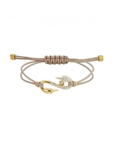 Power S-Hook jewelry Swarovski gold...
