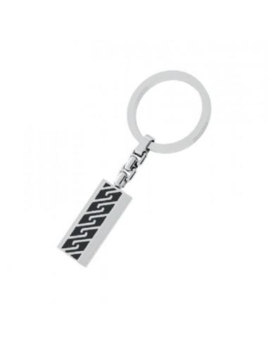 RossoAmante steel key ring UPC79ER