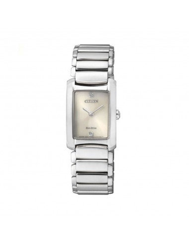 Citizen Lady Eco-Drive watch in steel...