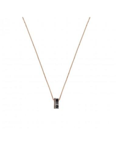 High jewelry pendant Swarovski rose...