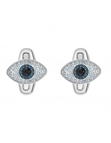 Swarovski Gemelli Evil Eye in acciaio...