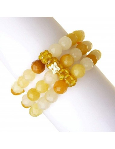Rajola Yellow and gold agate...