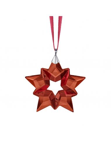 Swarovski Red small Christmas star...