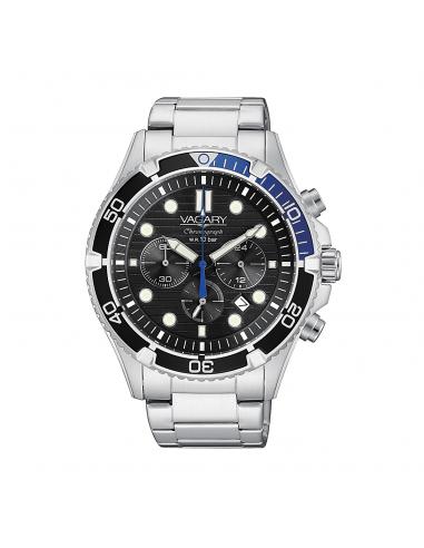 Vagary chrono men's steel watch...