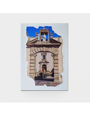 Arco San Francesco di Paola in legno...