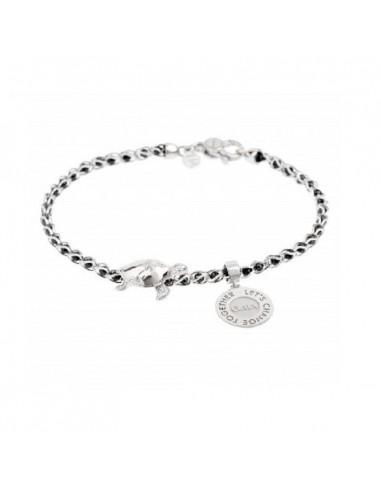 Tuum bracciale Gaia in argento con...