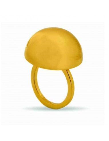 Aquaforte ring Bolle in gold plated...