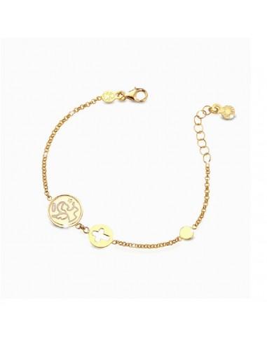LeBebè gold bracelet Protect me...