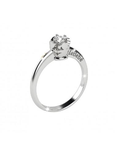 LeBebè anello Inseparabili in oro...