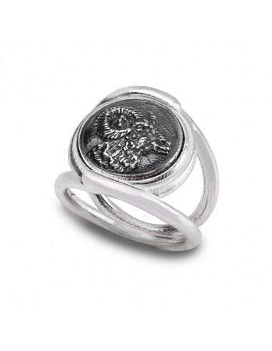 Gerardo Sacco anello Ariete in...
