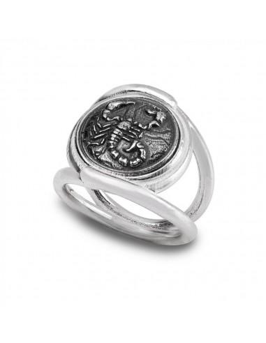 Gerardo Sacco anello Scorpione in...