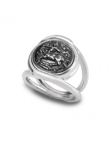 Gerardo Sack silver Sagittarius ring...