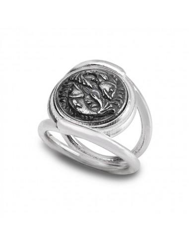 Gerardo Sacco ring in silver, new...