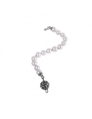 Gerardo Sacco bracciale di perle e...