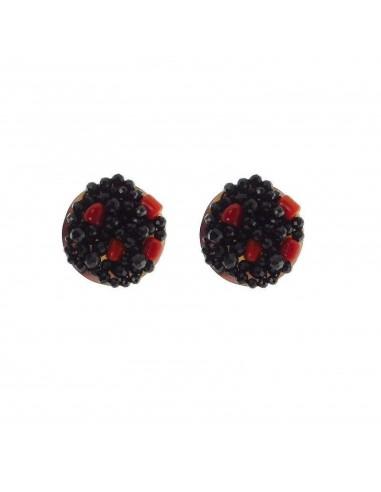 Rajola TRESOR earrings in spinel...