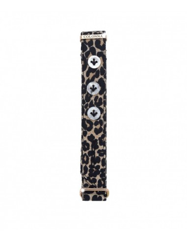 Spotted tailored cuff Colonna...