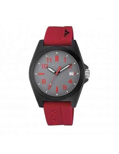 Vagary time only watch in steel...