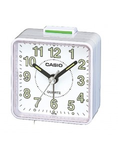 Casio Alarm clock in white...