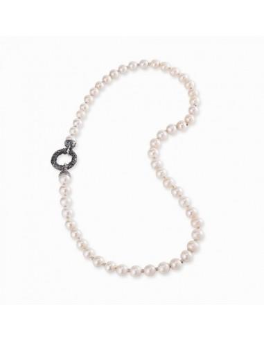 Gerardo Sacco collana di perle con...