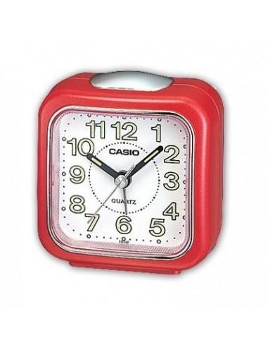 Casio red alarm clock TQ-142-4EF