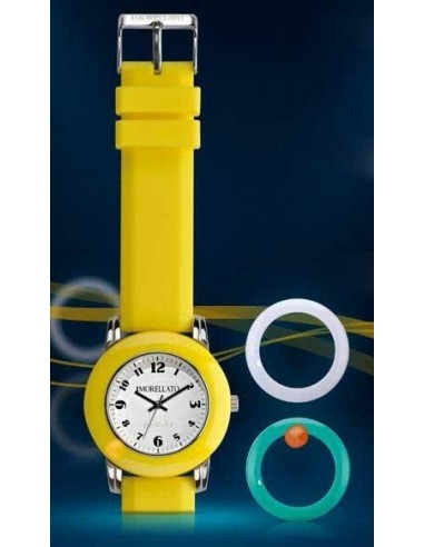 Morellato watch unisex Colors Yellow...