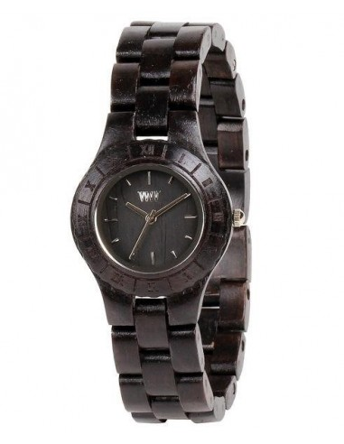 Moon Black Wewood watch in wood for...