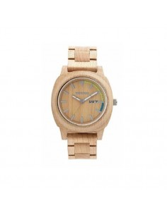 MOTUS BEIGE Wewood watch in...