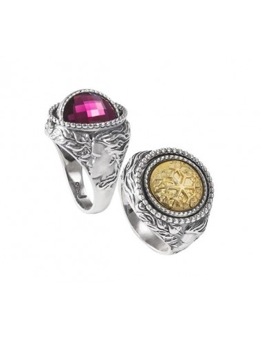 vasta selezione di efccd 726b1 Ring Months Reverse Gerardo Sacco December winter in silver 27697