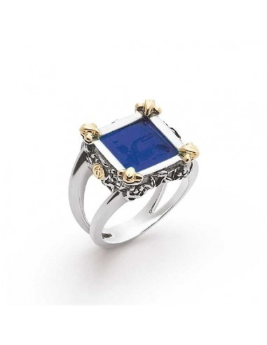 Gerardo Sacco Ring in silver gold and...