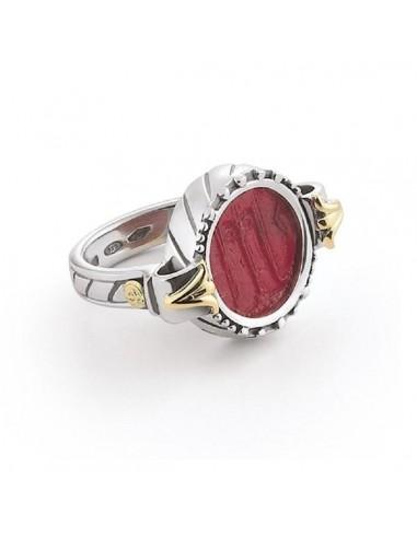 Gerardo Sacco anello in oro argento e...