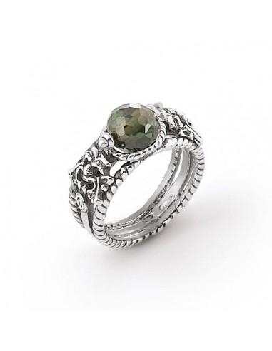 Gerardo Sacco Ring in silver and...