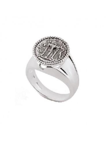 Gerardo Sacco anello in argento Mito...