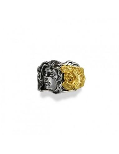 Gerardo Sacco May ring in silver Mesi...