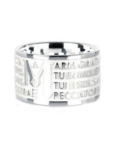 Anello TUUM in argento lucido 925 con...